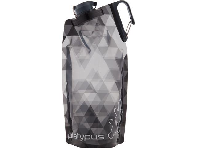 Platypus DuoLock Gourde souple 1000ml, gray prisms